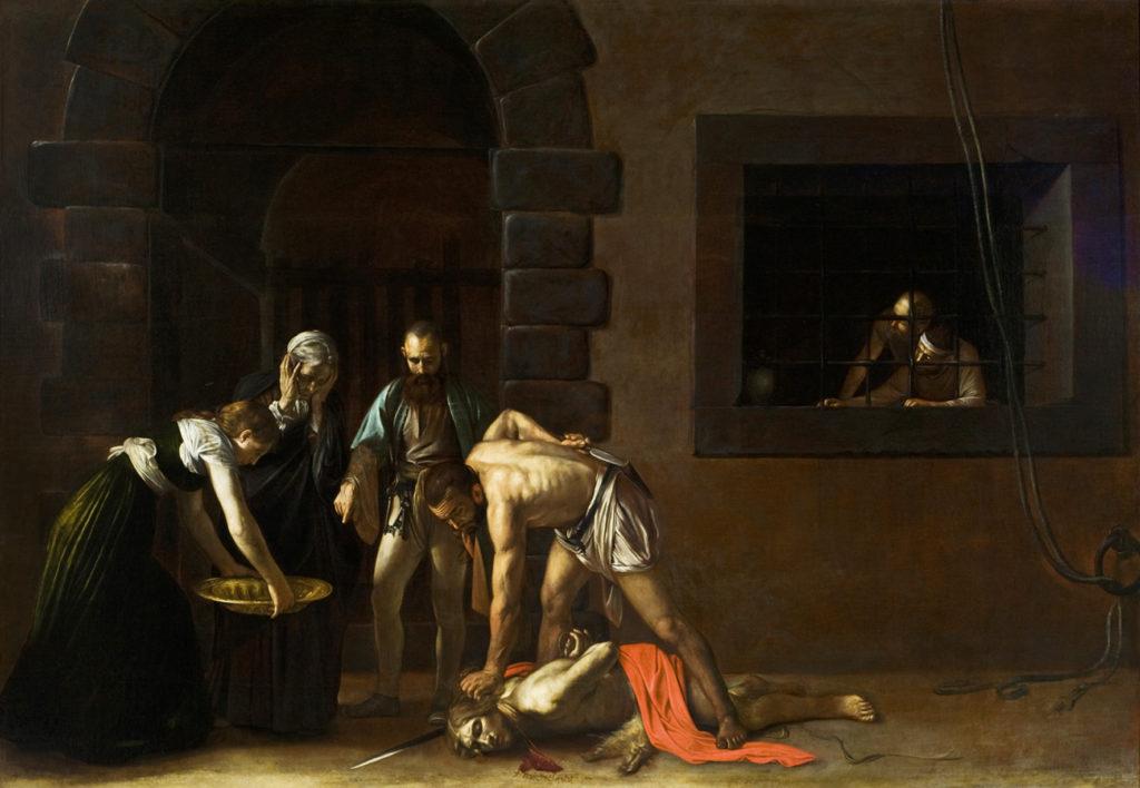 Martirio di San Giovanni Battista - Caravaggio